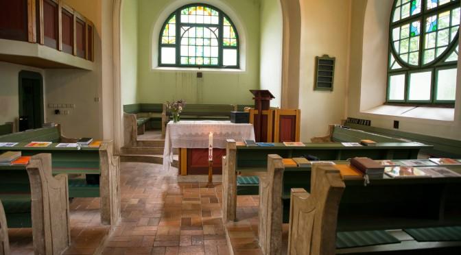 Kázání při výročí kostela: Erich Busse